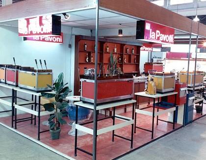 1972 - La Pavoni znamená luxusní espresso po celém světě