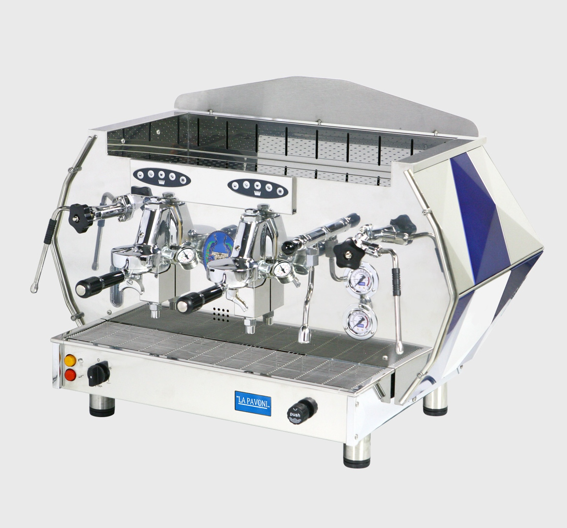Pákový kávovar La Pavoni Diamante Models DIA SV 2GR